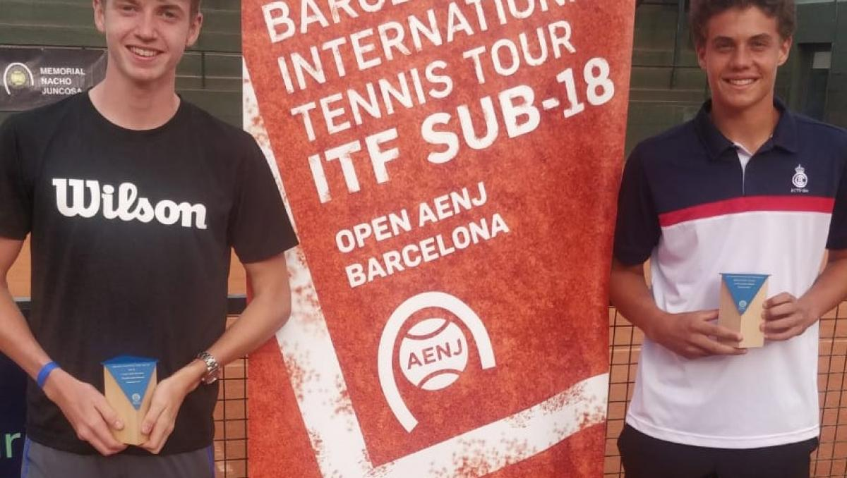 Berlanga, Cabrera y Basing, finalistas del ITF World Tennis Tour Jr del RC Polo
